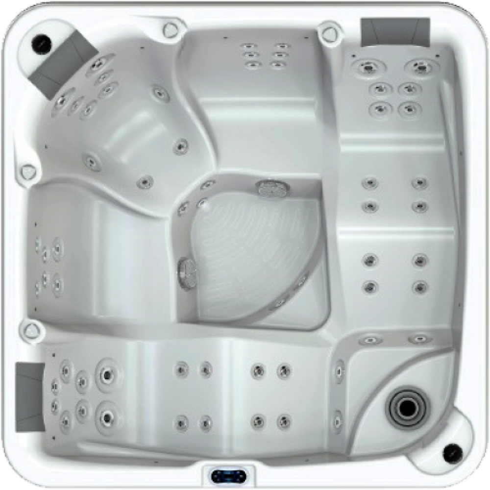 oasis therapy hot tub from bay spas
