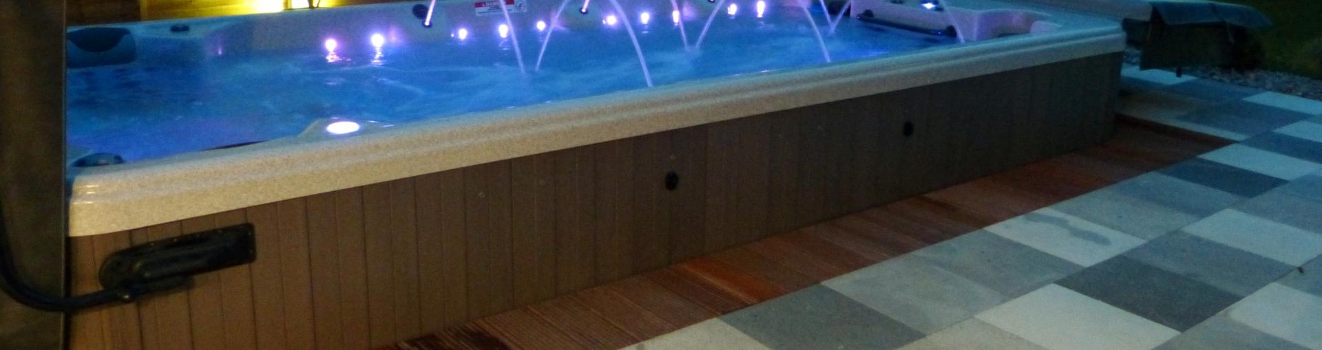 Swim Spas in North Devon from Bay spas