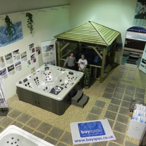Bay Spas showroom